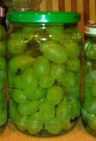 маринованный виноград рецепты на зиму