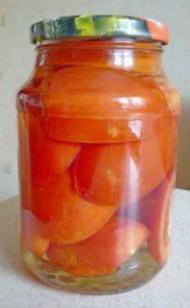 помидоры консервированные сладкие