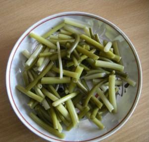 рецепт маринованные стрелки чеснока