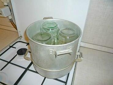 стерилизация банок при консервировании, пустых