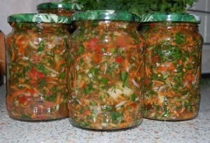 приправы из овощей на зиму