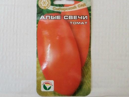 лучшие сорта помидор Томат Алые свечи