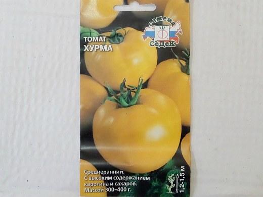 лучшие сорта помидор Томат Хурма