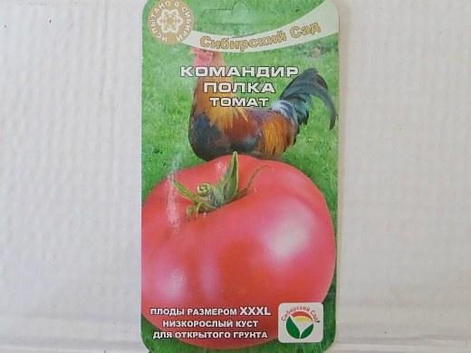 лучшие сорта помидор Томат Командир полка