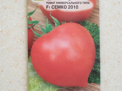 лучшие сорта помидор Томат Семко 2010