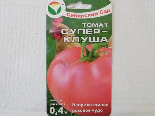 лучшие сорта помидор Томат Супер-Клуша
