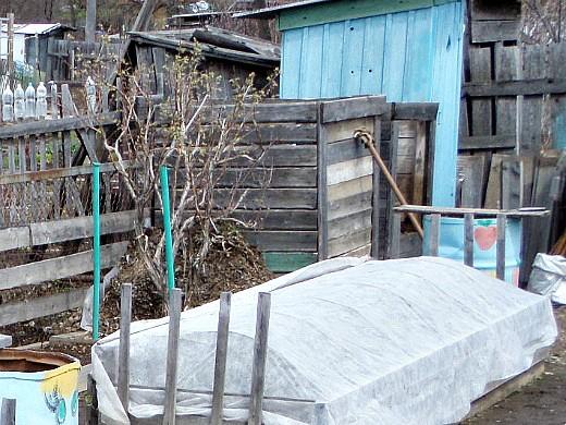 компостный ящик на даче своими руками 1-3