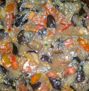рагу из баклажанов на зиму рецепт