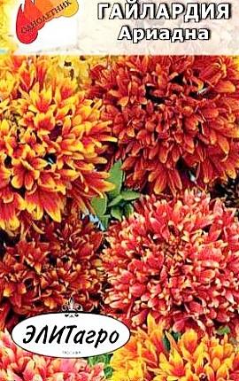 семена гайлардия махровая сорт ариадна