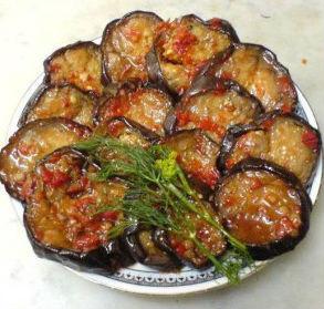 закуска из баклажан на зиму рецепт