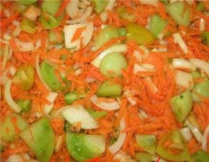 салат на зиму из помидоров с перцем