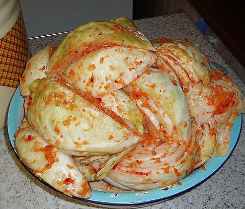 Рецепт маринованной капусты белокочанной на зиму с фото