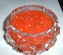 соус из помидоров на зиму с хреном