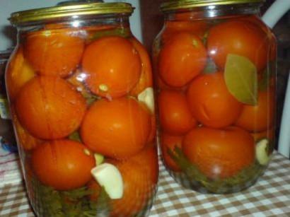 маринование овощей на зиму