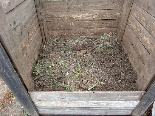из чего делать компост - закладка отходов