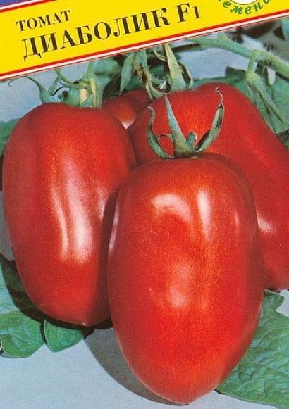 лучшие сорта томатов для открытого грунта - диаболик f1
