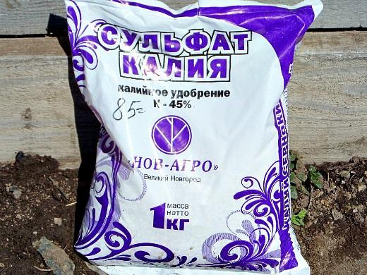 чем подкармливать растения - удобрения, сульфат калия
