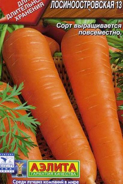 лучшие сорта моркови для открытого грунта, с описанием - лосиноостровская 13