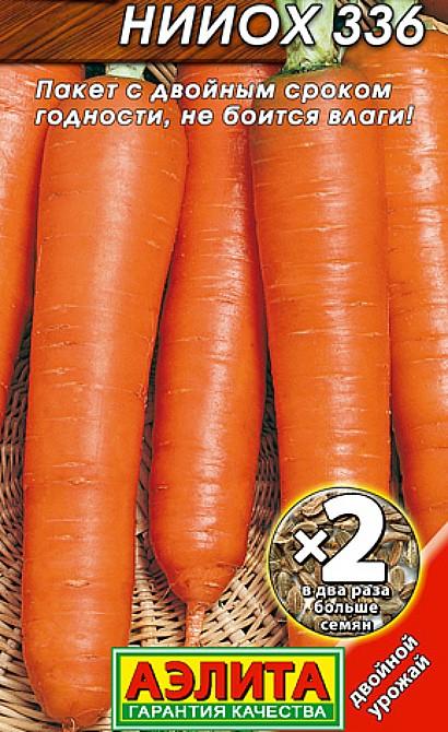 лучшие сорта моркови для открытого грунта, с описанием - нииох 336