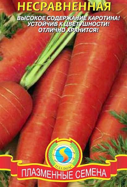 лучшие сорта моркови для открытого грунта, с описанием - несравненная