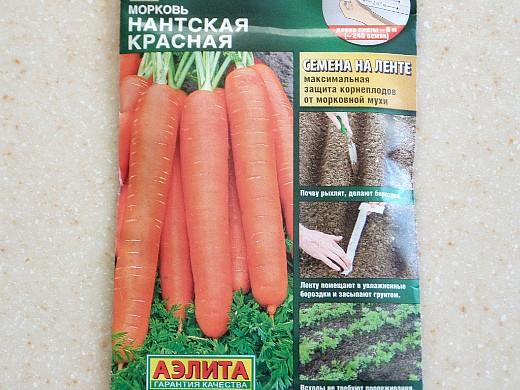 лучшие сорта моркови для открытого грунта, с описанием - нантская красная