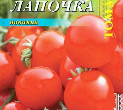 мелкоплодные сорта высокорослых томатов для открытого грунта и теплиц - лапочка