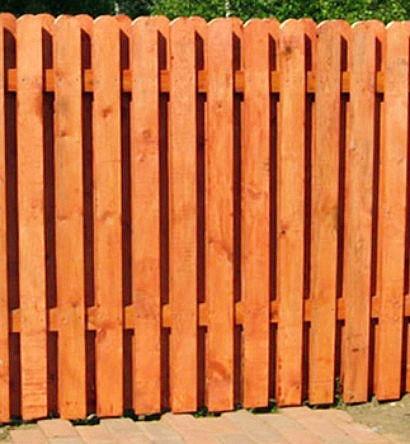 ограждение дачного участка забором 1-4