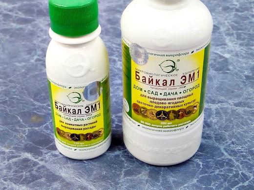 препарат байкал эм-1, инструкция и применение