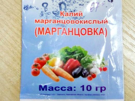 минеральные и органические удобрения для томатов - марганцовка 1