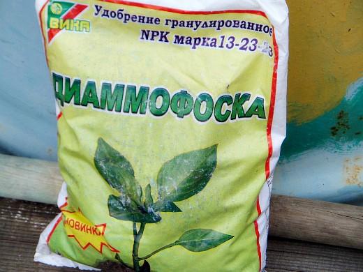 удобрения для посадки и выращивания картофеля - диаммофоска