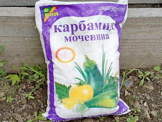 удобрения для посадки и выращивания картофеля - мочевина (карбамид)
