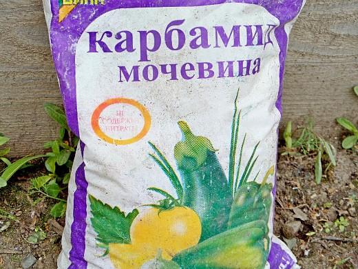 минеральные и органические удобрения для капусты - карбамид (мочевина)