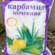 карбамид (мочевина) применение на огороде, в саду