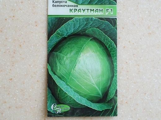 лучшие сорта капусты белокочанная краутман f1