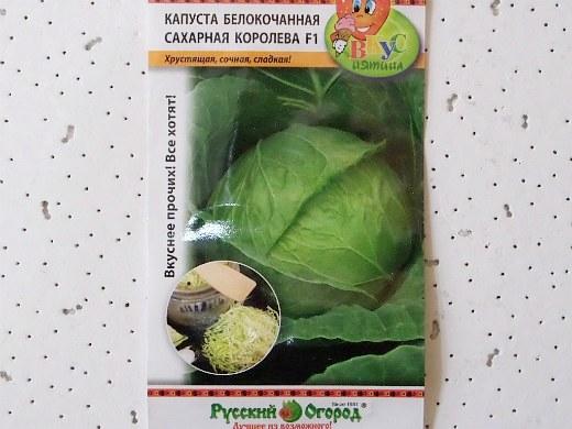 лучшие сорта капусты белокочанная сахарная королева f1