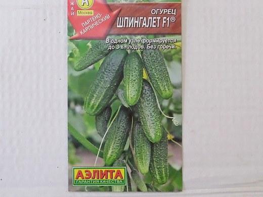 лучшие сорта огурцов для открытого грунта и теплицы - семена шпингалет f1