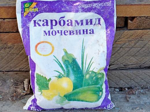 опрыскивание сада весной от вредителей и болезней - применение карбамида
