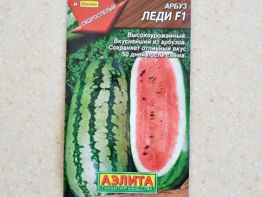лучшие сорта арбузов с фото и описанием - леди f1