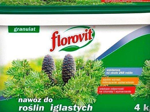 удобрения для хвойных растений флоровит