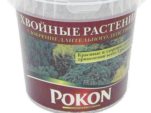 удобрения для хвойных растений pokon